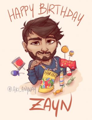 Happy Birthday Zayn Malik